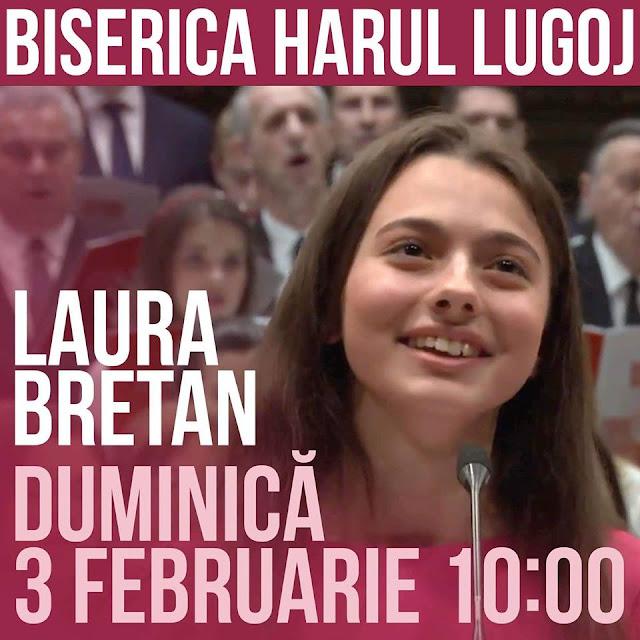 Concert Laura Bretan la Lugoj