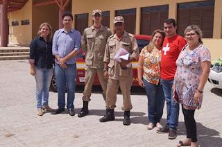 A pedido do Ministério Público, corpo de Bombeiros vistoria Parque ecológico de Picuí