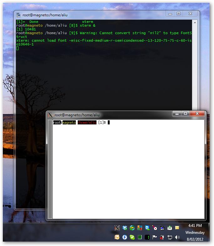 Webtop Blog: X11 Forwarding from Linux to Windows via Xserver