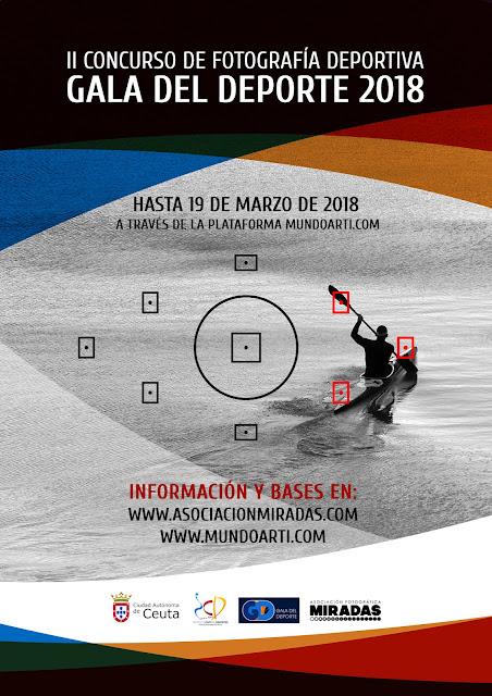 """II Concurso de Fotografía deportiva """"Gala del deporte 2018"""""""