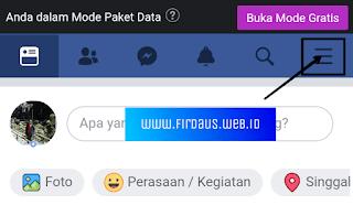 Langkah 1 membuat catatan facebook
