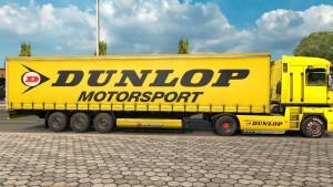 Renault Magnum Dunlop skin + trailer