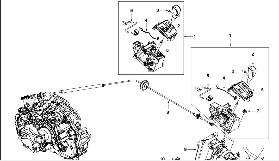 Chevrolet Captival Automotive Transmision Document