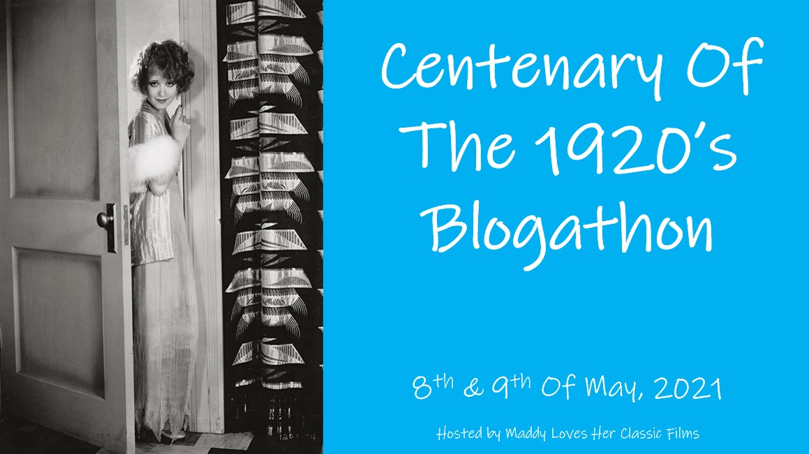 Centenary of the 1920s Blogathon