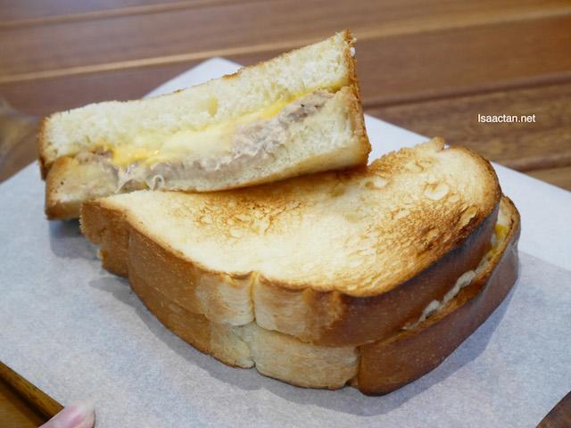 Tuna Cheddar Sandwich - RM12
