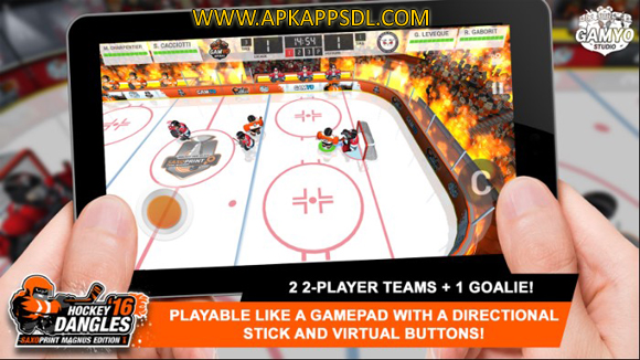 Download Hockey Dangles 16 Magnus Apk Mod v1.06 Full Version 2016