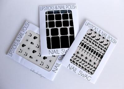 Lipstick & Nail Polish | Nail Swag Vinyl Decals