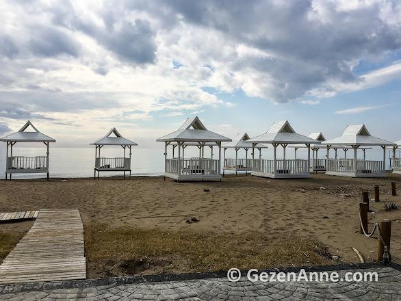 Rixos premium belek otelinin plajı, Antalya