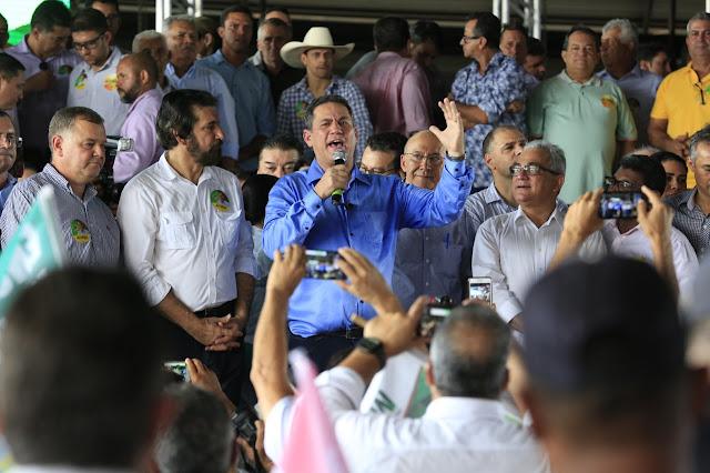 Em grande festa, MDB confirma pré-candidaturas de Maurão ao Governo, Confúcio e Raupp ao Senado