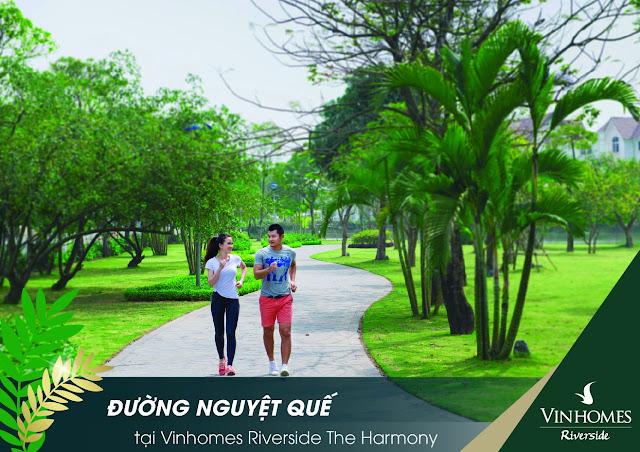 Vinhomes riverside the harmony Nguyệt Quế