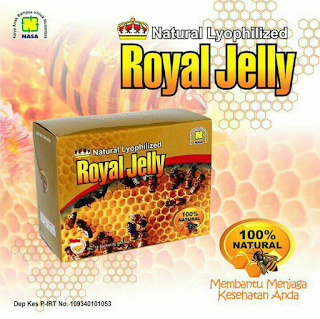 Obat Stres Nasa Royal Jelly