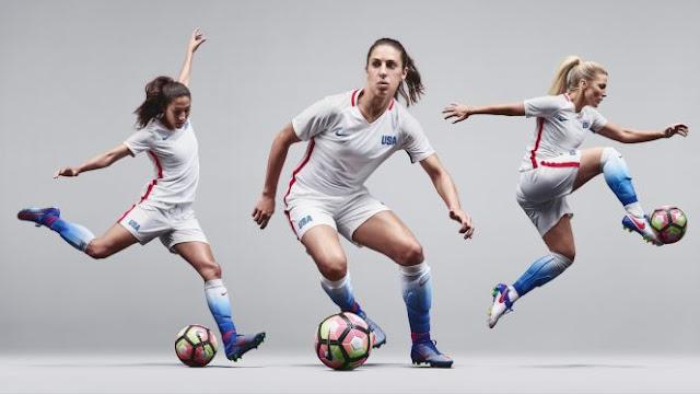 Nike presenta el uniforme para Río del fútbol femenino USA