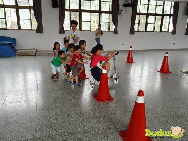 『踩踏滑板車』產品律動教學幼兒體能活動