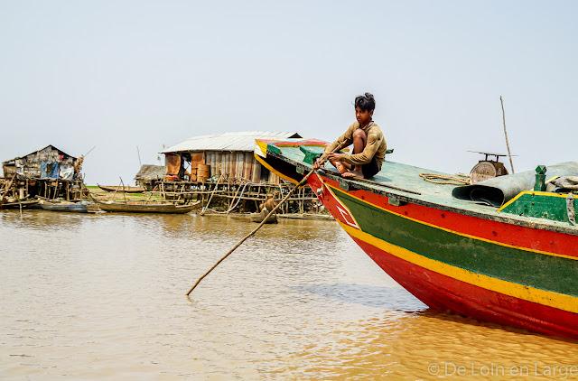 Tonle Sap-Cambodge