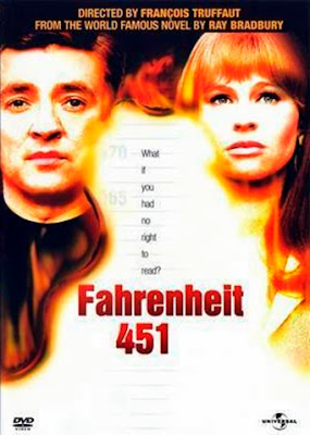 capa do filme Fahrenheit 451 de 1966