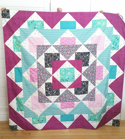 AGF Palisades Quilt Free Pattern