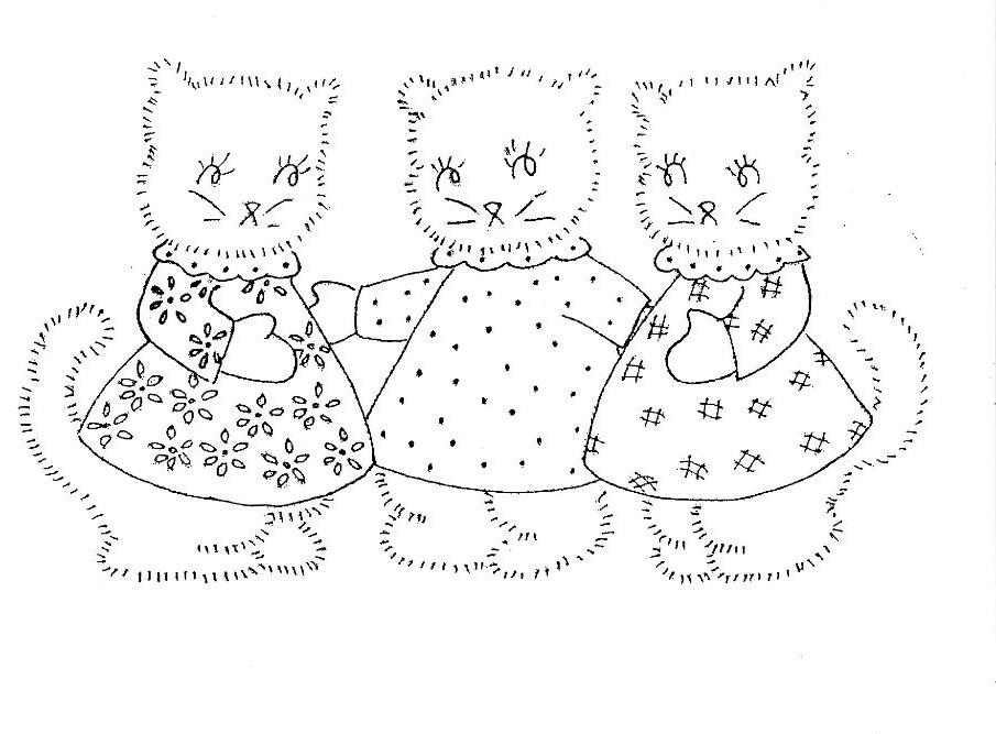 inkspired musings: 3 Little Kittens Nursery Rhyme Fun