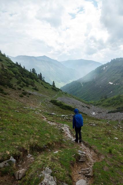 Von Hintersee aufs Gennerhorn  Wandern Fuschlseeregion  Osterhorngruppe 13