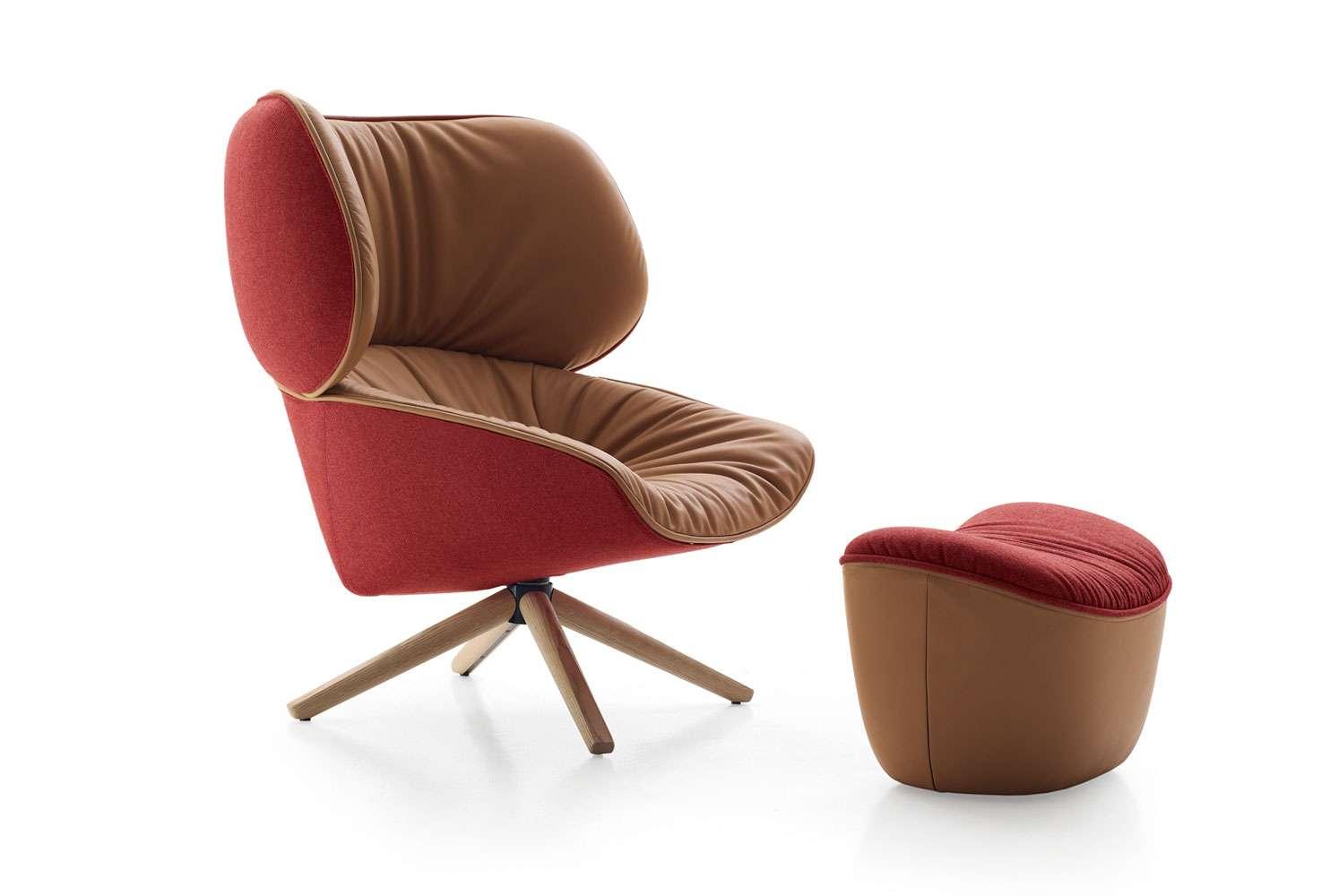 free 3d model armchair b b italia tabano tp93 archviz