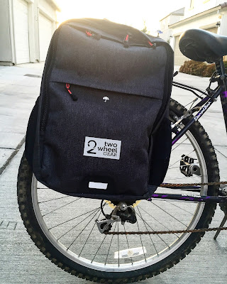 Two Wheel Gear Pannier Backpack Convertible Graphite Review