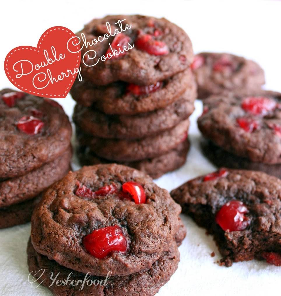http://yesterfood.blogspot.com/2014/02/double-chocolate-cherry-cookies.html