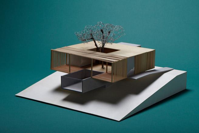Dise o de interiores escuela de arte de motril maqueta - Escuela de diseno de interiores ...