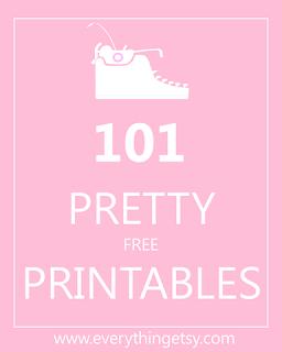 101 Pretty Free Printables