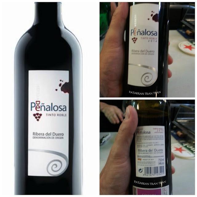 Peñalosa Roble 2014. Un tinto sorprendente en De Mercado