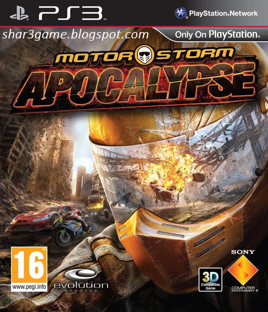 SHAR3GAME - Free Download Game + DLC PKG PS3: MOTORSTORM