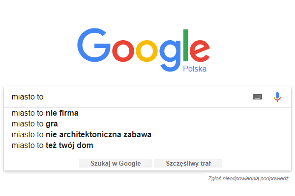 google miasto
