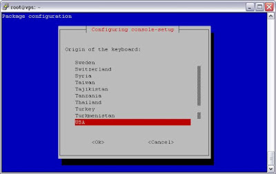 console-setup xorg ubuntu server debian