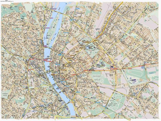 Budapest map