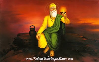 50+ Happy Guru Nanak Jayanti 2017 Quotes Wishes Status in Hindi