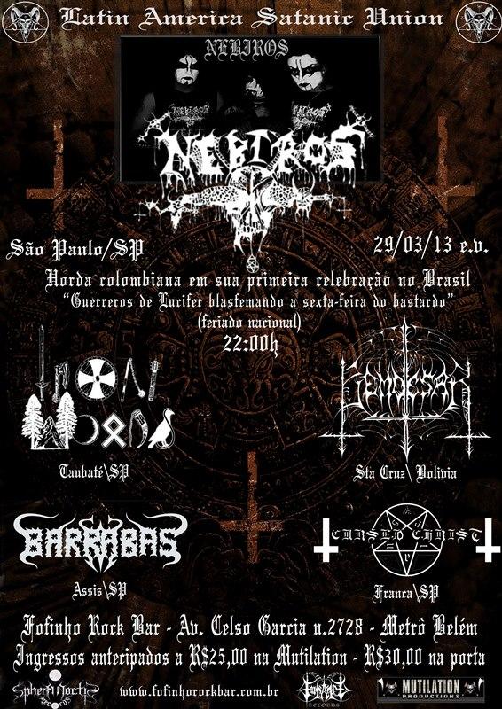 29 03 - BARRABAS CONFIRMADA AO LADO DE NEBIROS EM SÃO PAULO ~ SATANIC  MILITIA MAGAZINE 1310ba5b1f