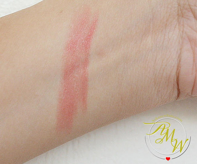 a swatch photo of Kanebo Moisture Rouge 01 Smart Red_AskMeWhats