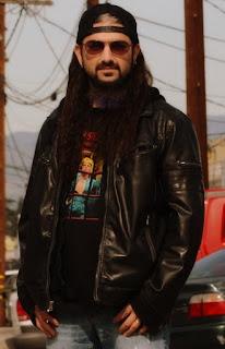 Gambar Jaket Kulit Mike Portnoy Dream Theater