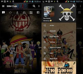 BBM Mod Tema One Piece