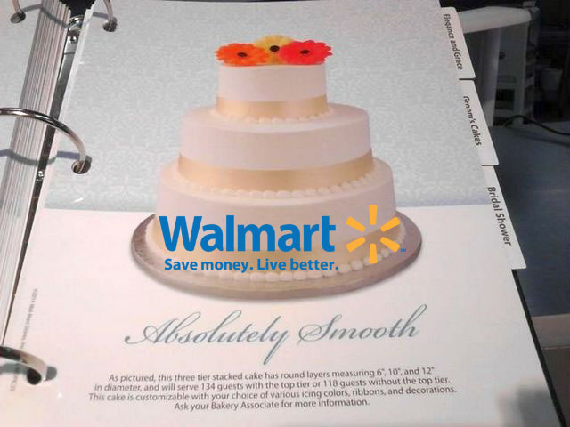 Walmarts Wedding Cake Is Another Idea That You Can Have This Particular Looks Elegant And Luxurious It Has Beautiful Pattern