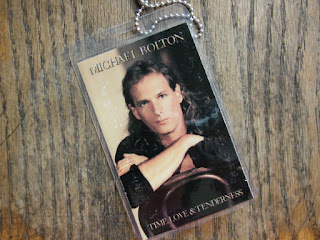 rockcylce luggage tag with michael bolton