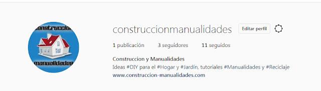 Construccion Manualidades en Instagram!