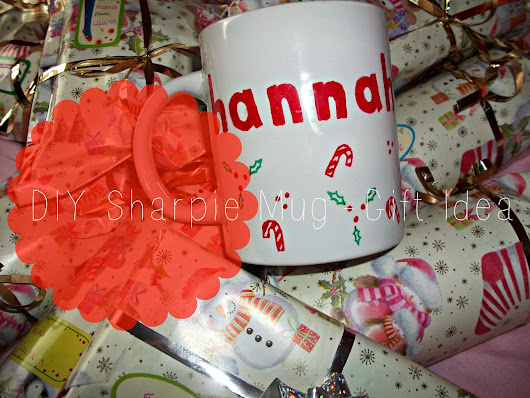 DIY Sharpie Mugs - Last Minute Gift Idea