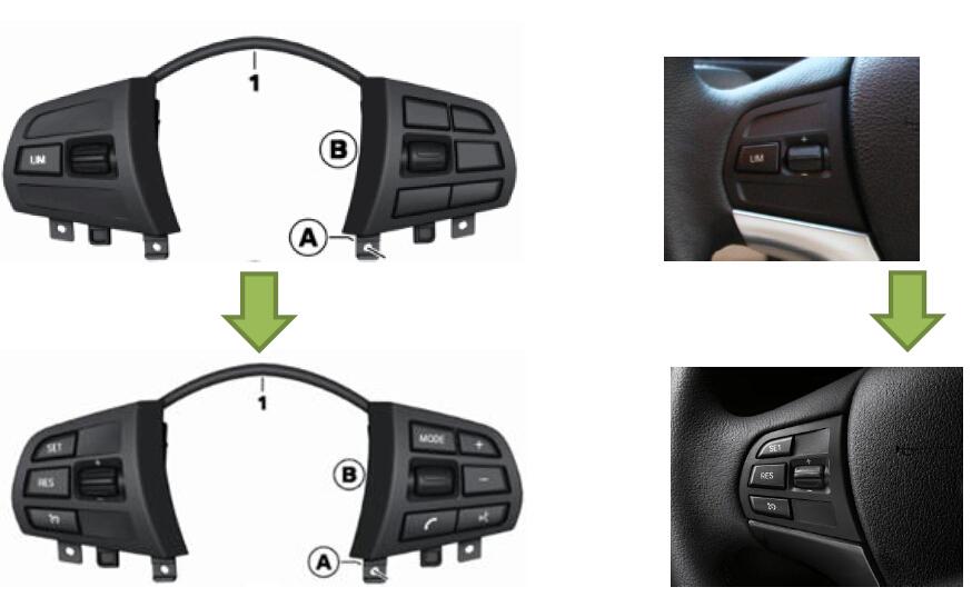How to retrofit Cruise Control for BMW F30 F20-OBD365 com