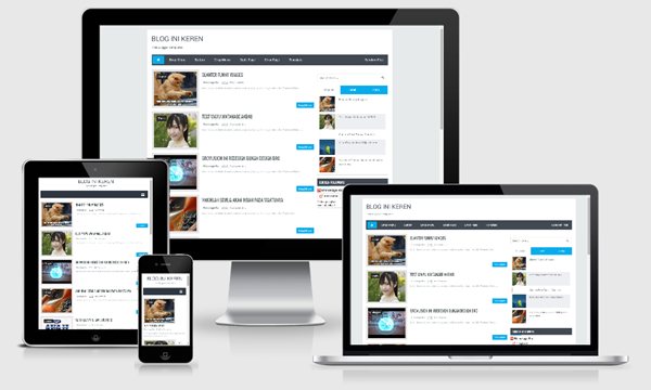 Brovusion blogger template