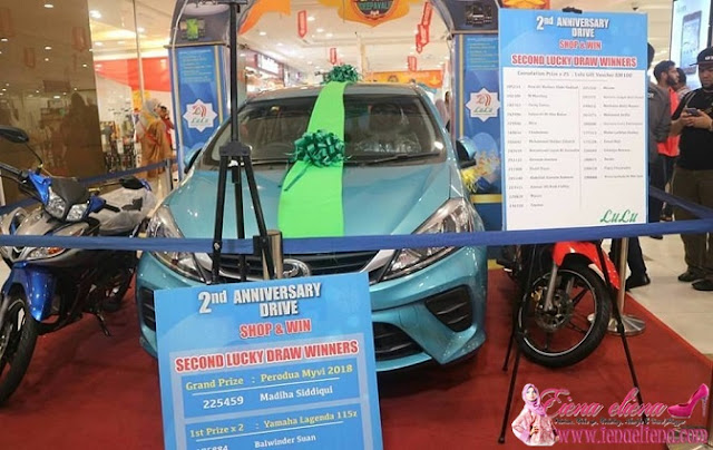 Price Giving Ceremony  For 2nd Anniversary Drive Shop And Win Contest