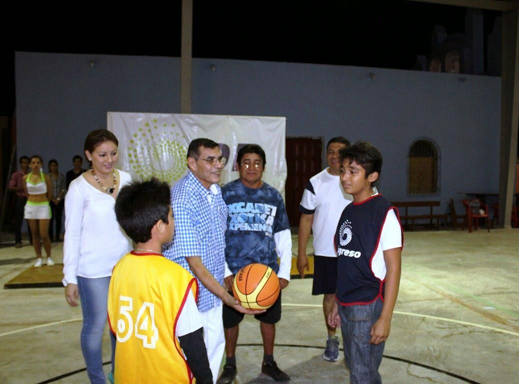 Baloncesto El Deporte Rafaga: Lo Mejor De Progreso: EXHIBICION DEL DEPORTE RAFAGA EN CHELEM