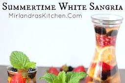 Summertime White Sangria