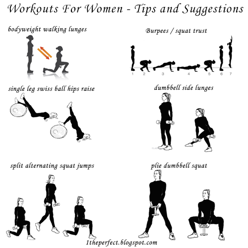 Workouts For Women Are Designed To Help Reach Two Popular Goals