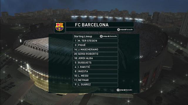 PES 2017 Beinsport 2 La Liga Logo TV Scoreboard