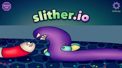 لعبة slither io للأندرويد