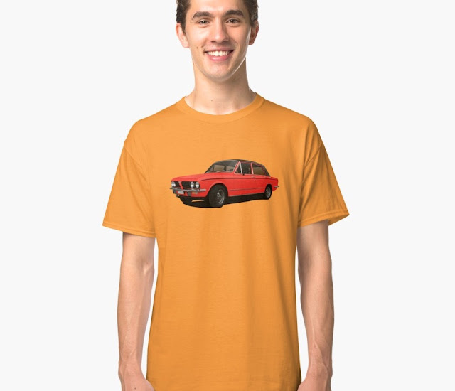 Triumph Dolomite Sprint car t-shirts